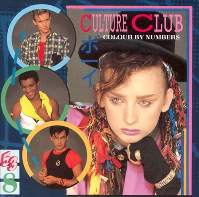 Culture Club // Colour by Numbers (1983) My first Culture Club album. I thought Boy George was so beautiful and colourful xx