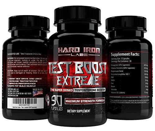 #Beauty #Health #muscle and strength Testosterone Booster For Men – Best Natural Test Booster – Testosterone Supplements for Muscle Growth – Increase Strength, Energy, Libido, & Burn Fat – Test Boost Extreme – 90 Testosterone Pills  WHAT IS TEST BOOST EXTREME? ...