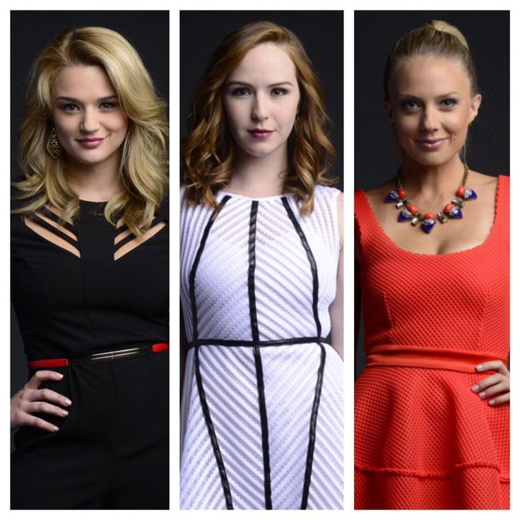 #YR - Melissa Ordway, Camryn Grimes, and Hunter Haley King.