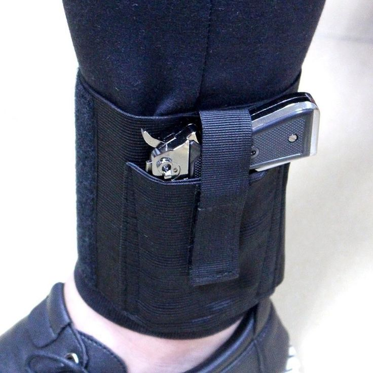 Ankle Holster - Universal Conceal Carry - Right or Left Ankle Pistol Gun Holster for Small to Medium Pistols