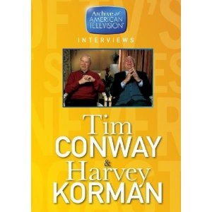Tim Conway & Harvey Korman Archive of American Television Interview (DVD)