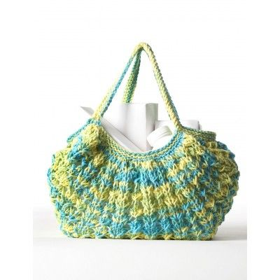Knitted Bags For Beginners : Free Beginner Womens Bag Knit Pattern