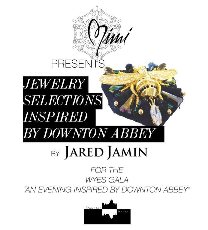 Flashback JAREDJAMIN.com #MiMiNOLA on Magazine St. offering old world #jewelry for the #DowntonAbbey #WYES 2014 FUNdraiser.