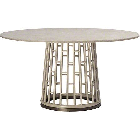 McGuire Furniture: Fretwork Dining Table: No. 847 - i LOVE this table.
