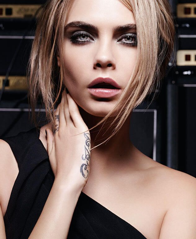 Cara Delevingne Smokey Eye Makeup | YSL