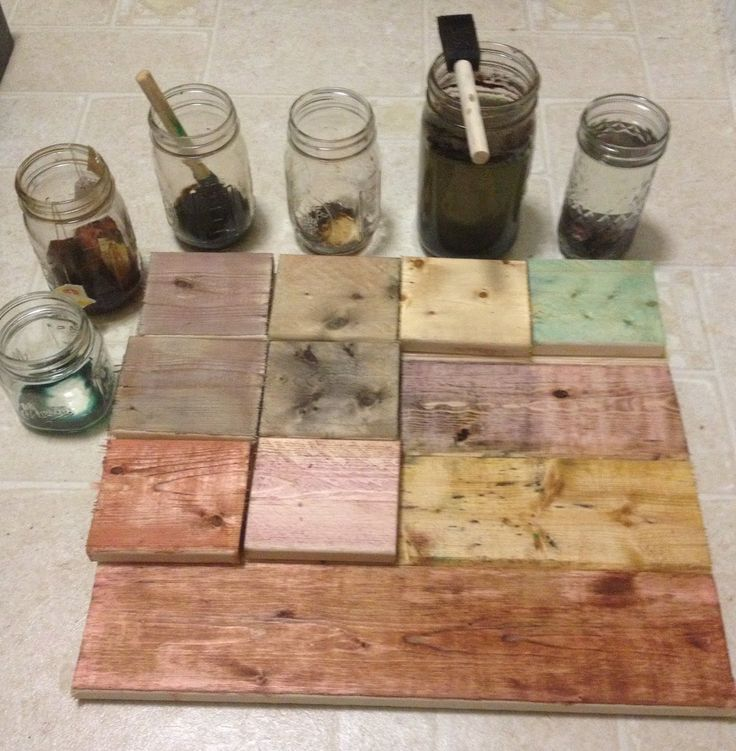 Original+Tea+Bag+Art | DIY Dark Wood Stains in Under 5 Minutes for Under $5.00