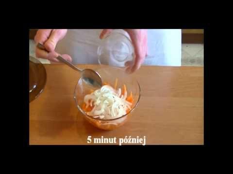 Sałatka z kurczaka przygotowana w sposób wietnamski. Bardzo dobra na wiele okoliczności. Sałatkę podajemy z limonką. Szybki i smaczny przepis video kuchni Wietnamskiej