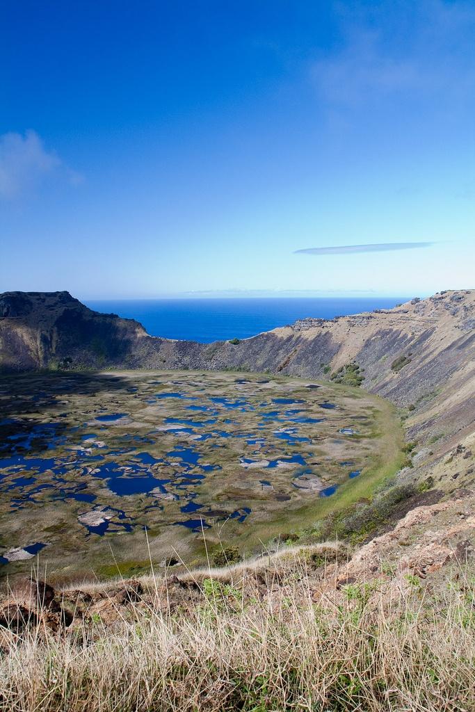 Rano Kau, Easter Island | Isla de Pascua