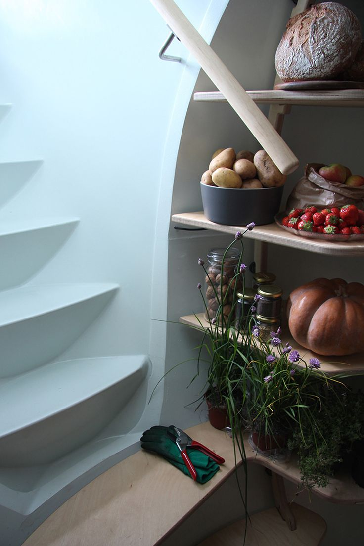 This Modern Underground Fridge Keeps Fruits And Vegetables Cool Without Any Electricity.