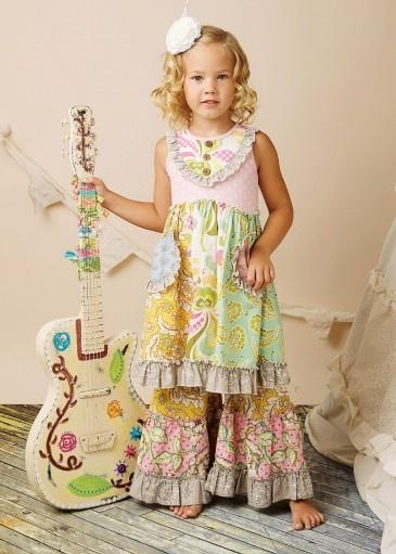 birthday outfit?  Scrappy Ramona Dress in Rainbow  {Mustard Pie Spring 2013 via One Good Thread}