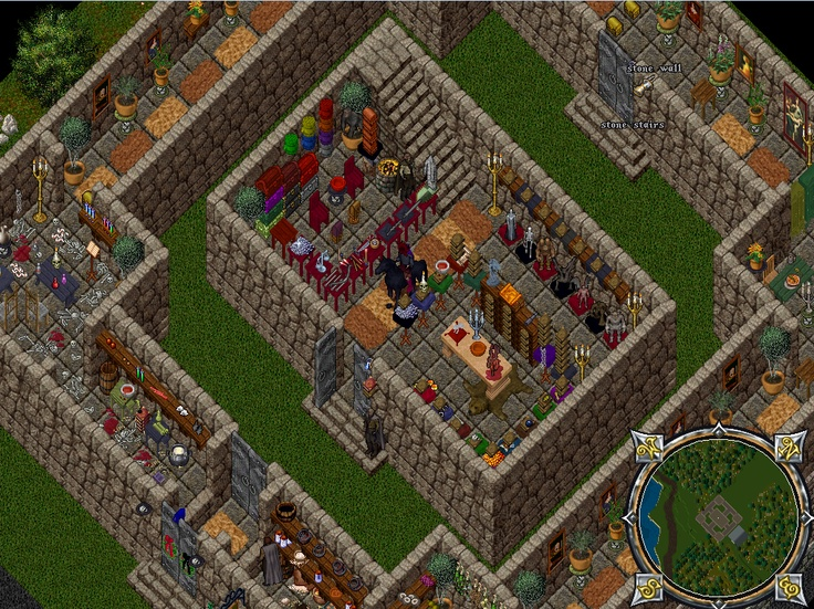 A Decorated Castle On The Renaissance Ultima Online Free Server Www Uorenaissance Com Celebrating House Decor Pinterest Castles As And The O Jays