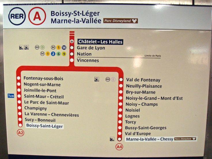 Paris RER - Paris by Train