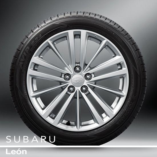 #SubaruImpreza  Llantas de Aleación de Aluminio de 17 Pulgadas  Con un espectacular diseño para el Impreza, cuentan con el atractivo de alta tecnología y alta performance de las llantas de 17 pulgadas de múltiples brazos.