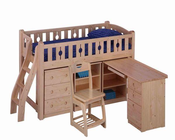 Desk bed combo  Home decor  Pinterest