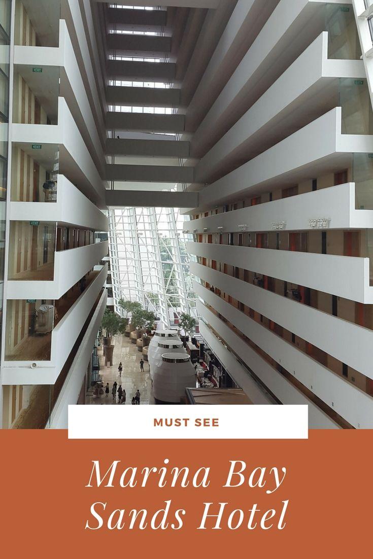 Marina Bay Sands Singapore – Hotel-Architektur vom Feinsten http://www.travelcurly.com/marina-bay-sands/ #marinabaysingapur #travelcurly