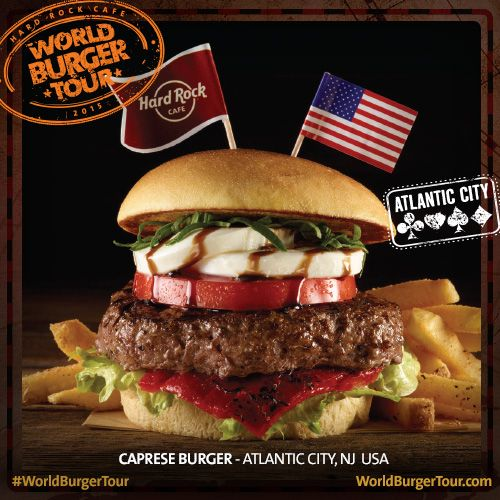 Caprese #Burger #Atlanta #USA