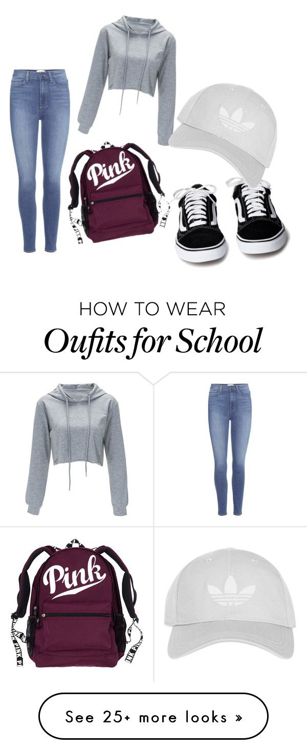 """""""back to school"""" by wiesbeeke on Polyvore featuring Paige Denim and Topshop"""