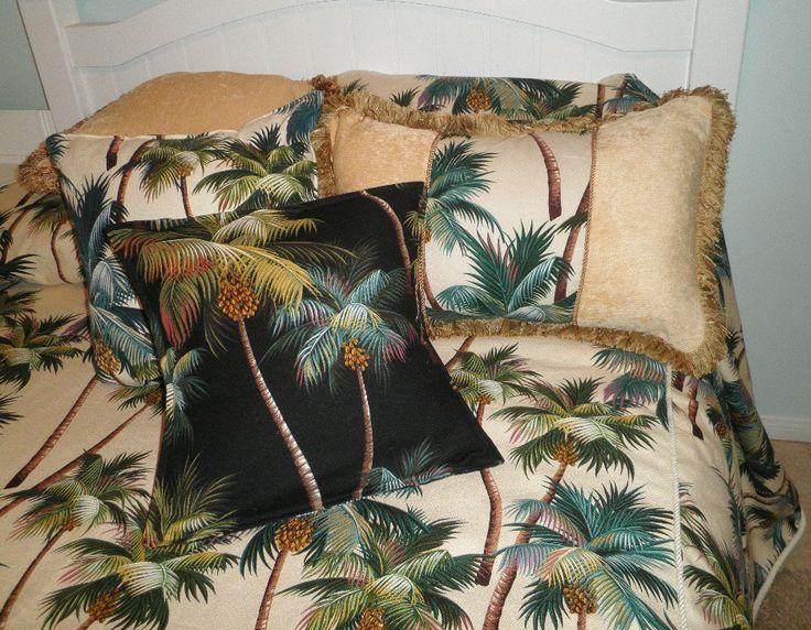 Palm Tree Quilt Sets: Best 25+ Tropical Bedding Ideas On Pinterest