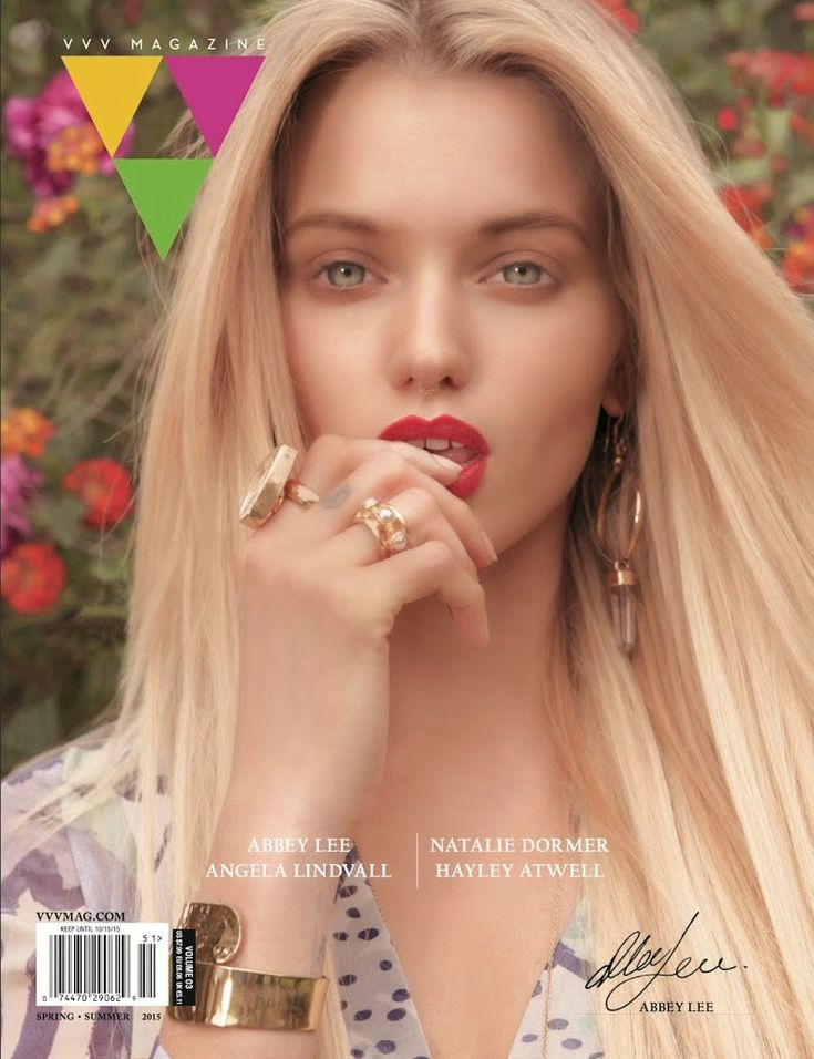 Abbey Lee Kershaw for VVV Magazine Spring/Summer 2015