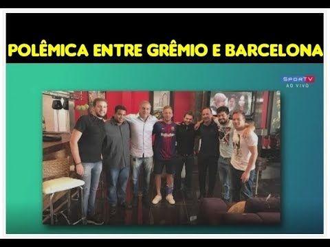 Arthur posa com foto com a camisa do Barcelona e causa polemica, Grêmio ...