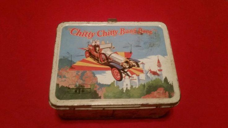 "Vintage metal lunch box – 1968 -  ""CHITTY CHITTY BANG BANG"""