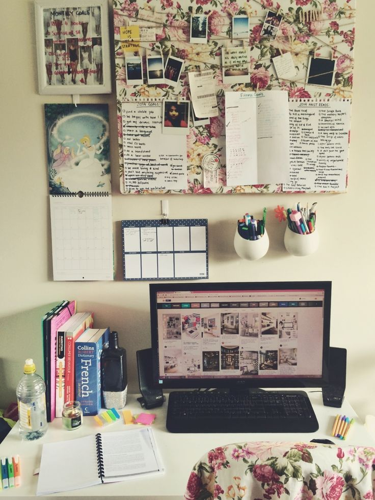 Superior Persistenceandpositivity: A Lovely Clean And Organised Desk To Start A  (hopefully) Productive Day