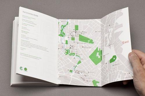 Contemporary Flat Map Design | Print Design