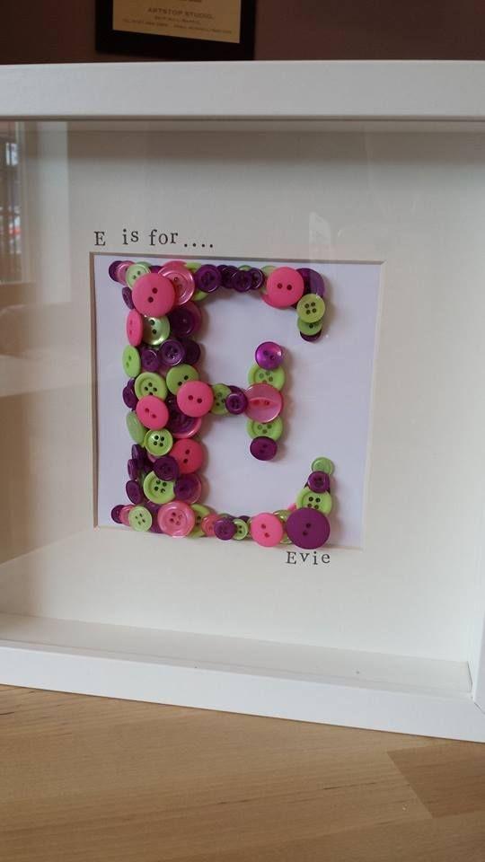 https://www.etsy.com/uk/listing/176290680/childrens-inital-button-frame?