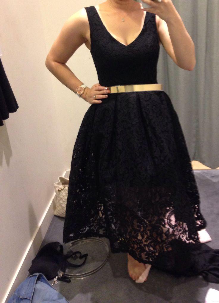 Bardot dress with bardot belt