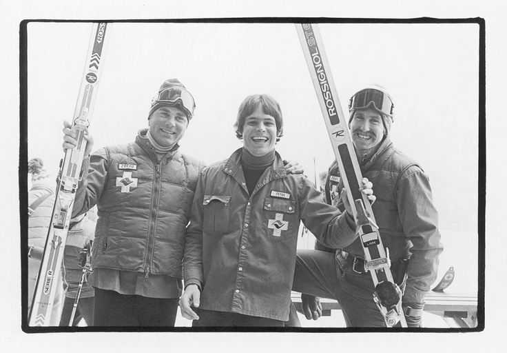 Vail Ski Patrol...this looks about the same vintage as our skiing days in Colorado (winter 1967-68).