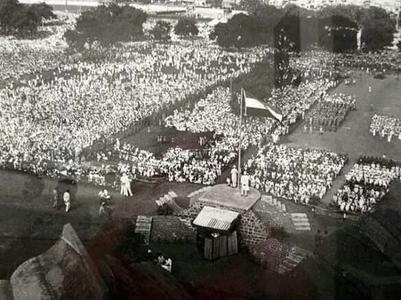 15 August 1947 First Indian Independence Day parade!