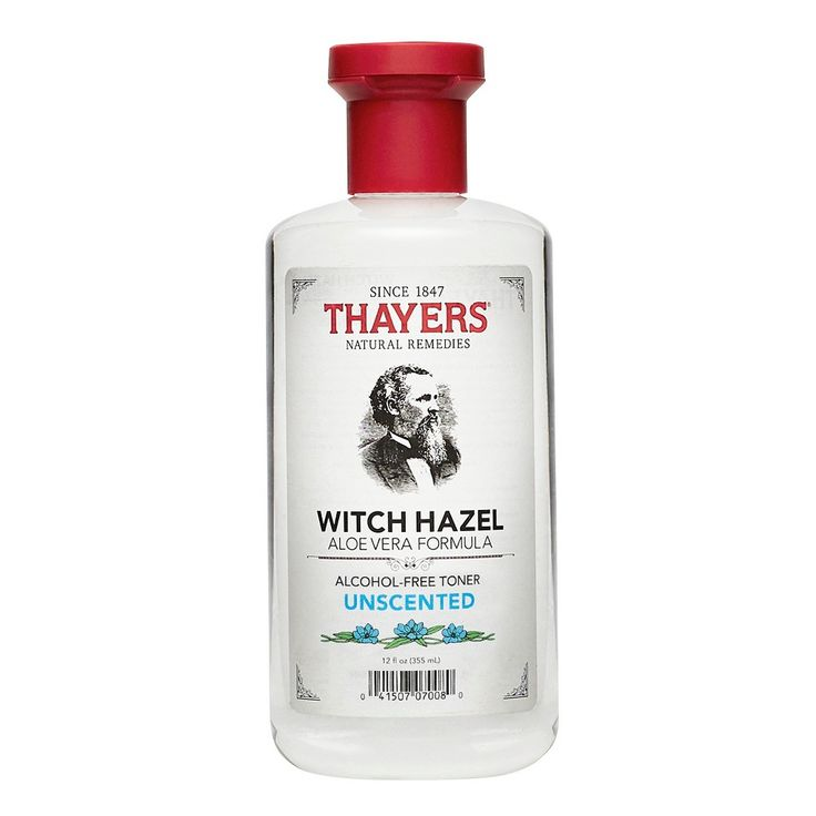 Thayers Witch Hazel Alcohol Free Toner Unscented - 12 oz