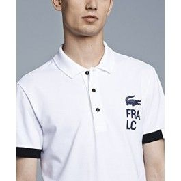 Men Polo Shirt, Short Sleeve, White