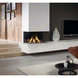 De #Dru Lugo 70/3 de ideale #haard voor plaatsing in een hoek. Dankzij het gebruik van twee zijden blijft het vuurzicht optimaal in tegenstelling van veel andere gashaarden. Ook is de Dru Lugo 70/3 uitgevoerd met het Eco Wave systeem. Met deze techniek creëer je bij een lage stand toch een prachtig hoog vlammenbeeld. Hierdoor verbruik je minder gas en bespaar je op je gasrekening! #Fireplace #Fireplaces #Gashaard #Kampen #Interieur