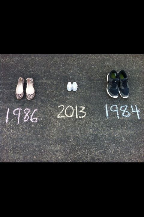 Cute way to announce a baby on the way!