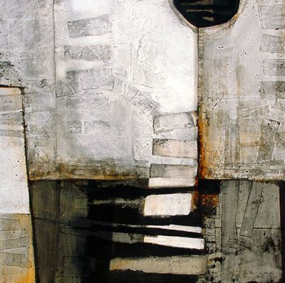 """""""black tie"""" ~ textured abstract by artist 'peter pharoah' ❀ ~ ◊ photo via his website 'an african canvas'"""