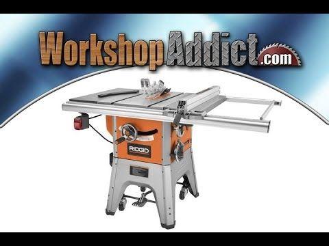 Sawstop PCS Product Tour - YouTube