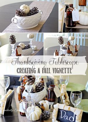 Stylish Decor Ideas for Fall Entertaining: Fall Tablescape