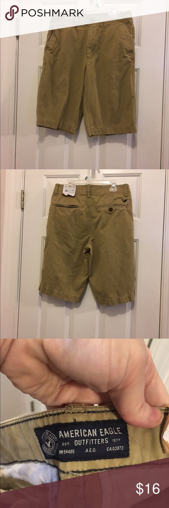 Size 28 men's American eagle shorts NWT Size 28 NWT American eagle longboard shorts, 12 inch inseam, NWT. American Eagle Outfitters Shorts