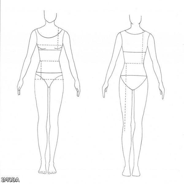 Ziemlich Modedesign Körper Vorlagen Zeitgenössisch ...