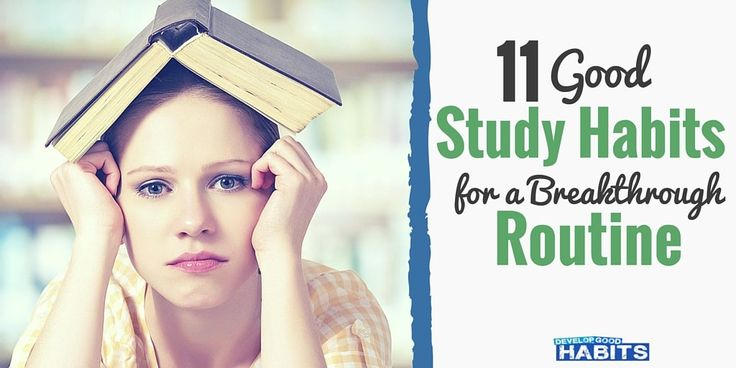 Do you have good study habits?  Students need a routine with specific timetables & strategies to learn these lessons. Follow these 11 steps to get started.