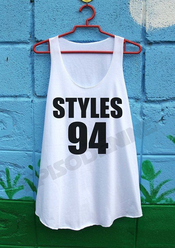 One Direction Shirt 1D Harry Styles Tank Top by EpisodeNine, $14.99