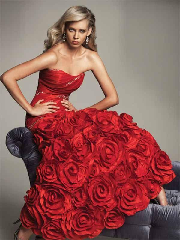 Vera Wang red dress <3