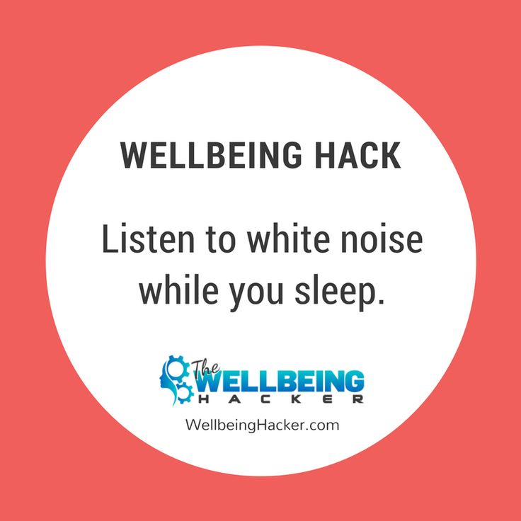 What's white noise? Basically any consistent background noise. It could be the sound of a fan 💨, or you could use an app or white noise playlist that includes sounds of waves crashing, rain, or a crackling fireplace🔥. However, try to use something that doesn't require having wi-fi in the bedroom. 📱It's not good for your sleep (more on this later.)