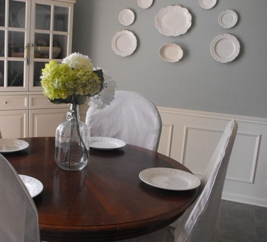 134 Best Dining Room Images On Pinterest  Dining Room Dining Stunning Dining Room Chair Covers Round Back Decorating Inspiration