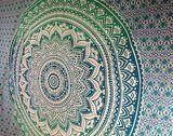 Mandala doek *turkoois/groen*_2