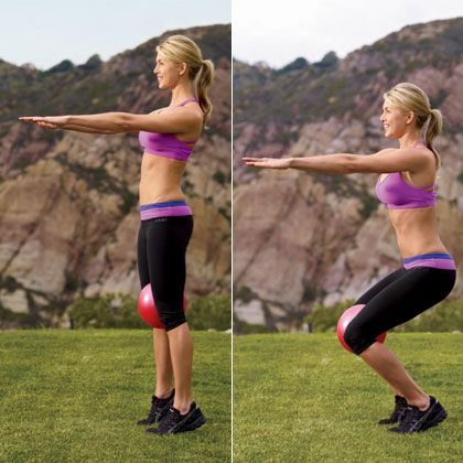 Fitness Instructor Simone De La Rue's Total-Body Workout - Simone De La Rue's Dancer Body Workout - Shape Magazine