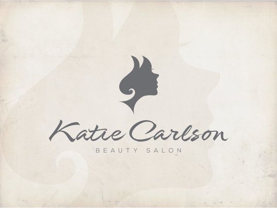 Logo design Beauty Salon Logo Hair Logo Stylist by fremusdesign