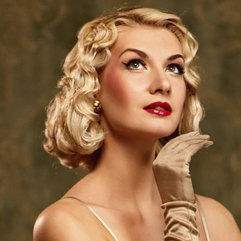Mittelhaarige Fingerwellen = Marilyn Monroe Sexappeal - #Fingerwellen #Haar #Marilyn #Mittelstufe #Monroe