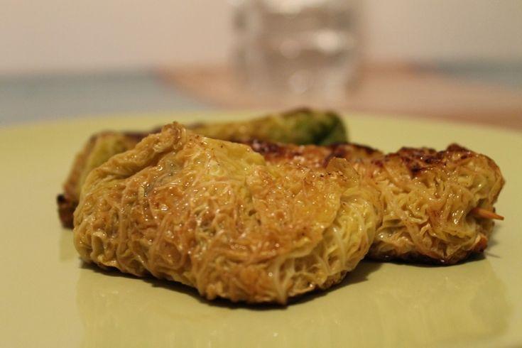 Involtini di verza con zucca funghi e salsiccia - Powered by @ultimaterecipe